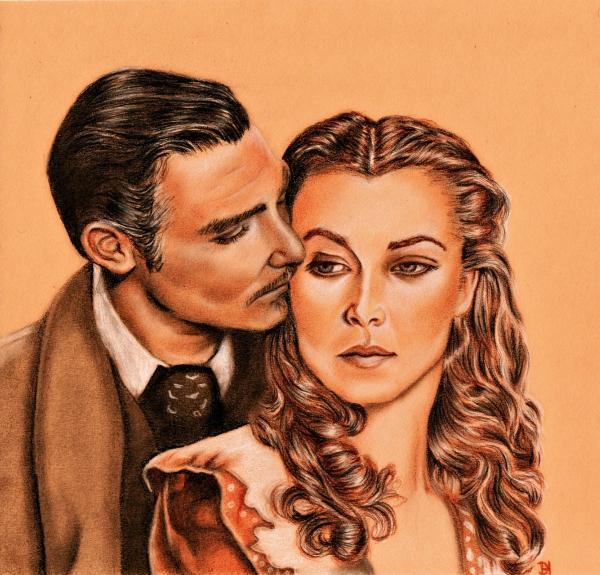 Clark Gable, Vivien Leigh por jade1703